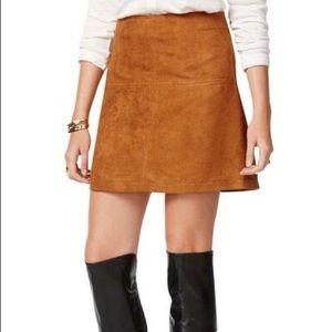 Sanctuary Faux Suede Mini Skirt